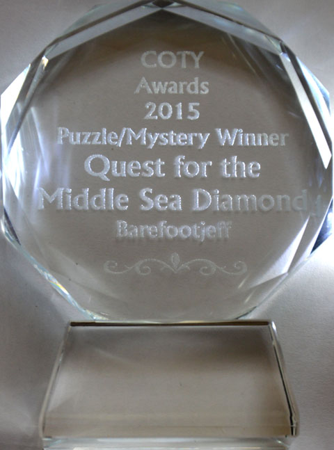 COTY Awards 2015 winner puzzle/mystery